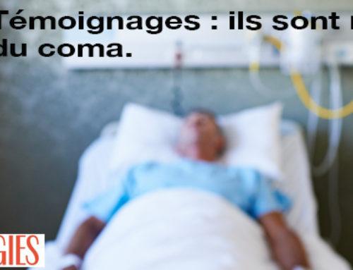 Actu 23 : Psychologies – Témoignages : ils sont revenus du coma.